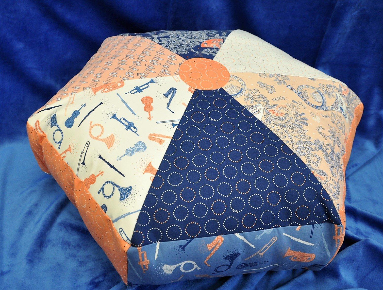 Hexi Floor Tuffet Pattern