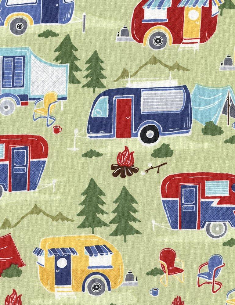 Campers - Fun-C4943-Green