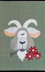 Goat Tea Towel Patternlet