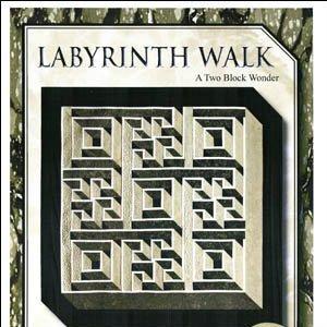 Labyrinth Walk A Two Block Wonder - GQU02 - 714329645650 : labyrinth quilts - Adamdwight.com