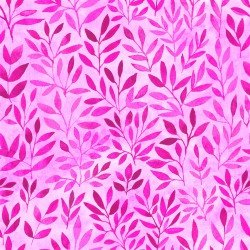 Floral Menagerie - Pink Leaves - IBFFLM4FMB-4