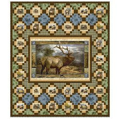 Wild Elk Quilt Kit
