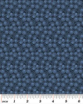 Scroll Blue 3668-55