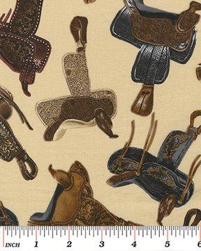 Western Saddles Tan - 0802407B