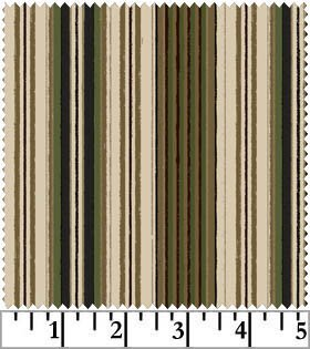 Workin' The West Stripe Green MAS1796-GE