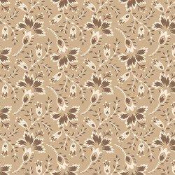 Hold 'Em or Fold 'Em Floral Tan MAS8386-T
