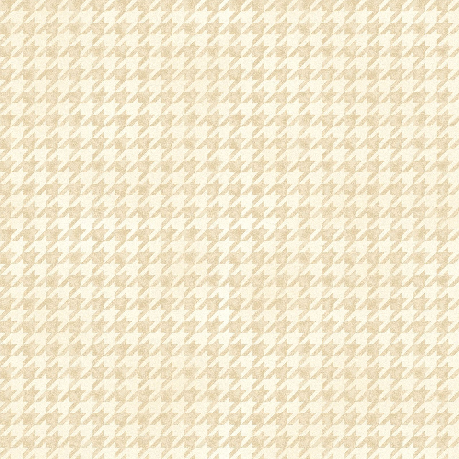 Arabella Shaded Houndstooth Cream - MAS8427-E