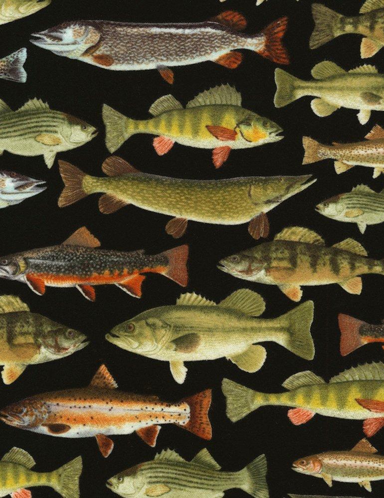 Nature - CF6405-Black - Fish