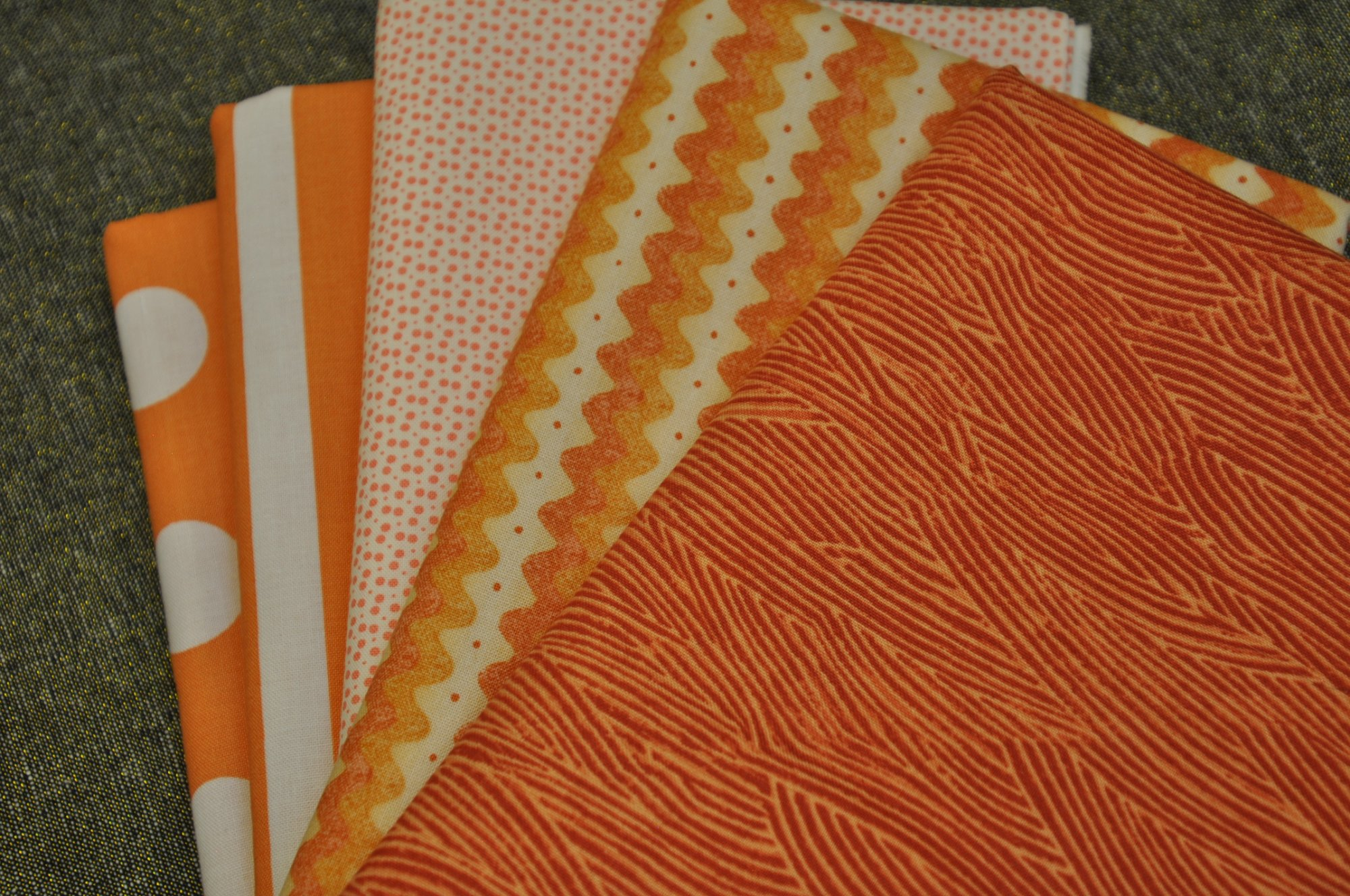 Outstanding Oranges - 5-yd Bundle