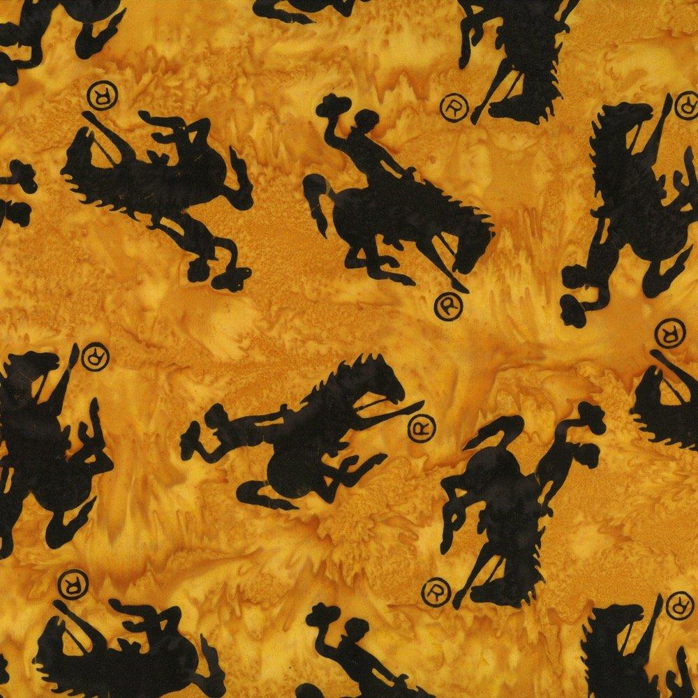 Custom Wyoming Bucking Horse<br>P2073-432 - Dijon