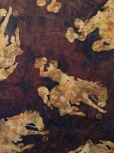 Bali Batik Wyoming Bucking Horse<br>Polomino M2790 267