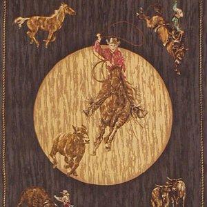 Rodeo Roundup Panel Black - 1060-2