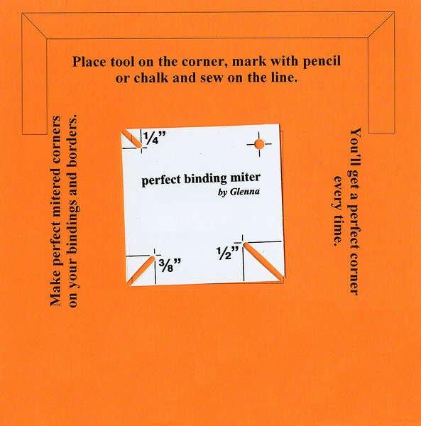 Perfect Binding Miter Tool