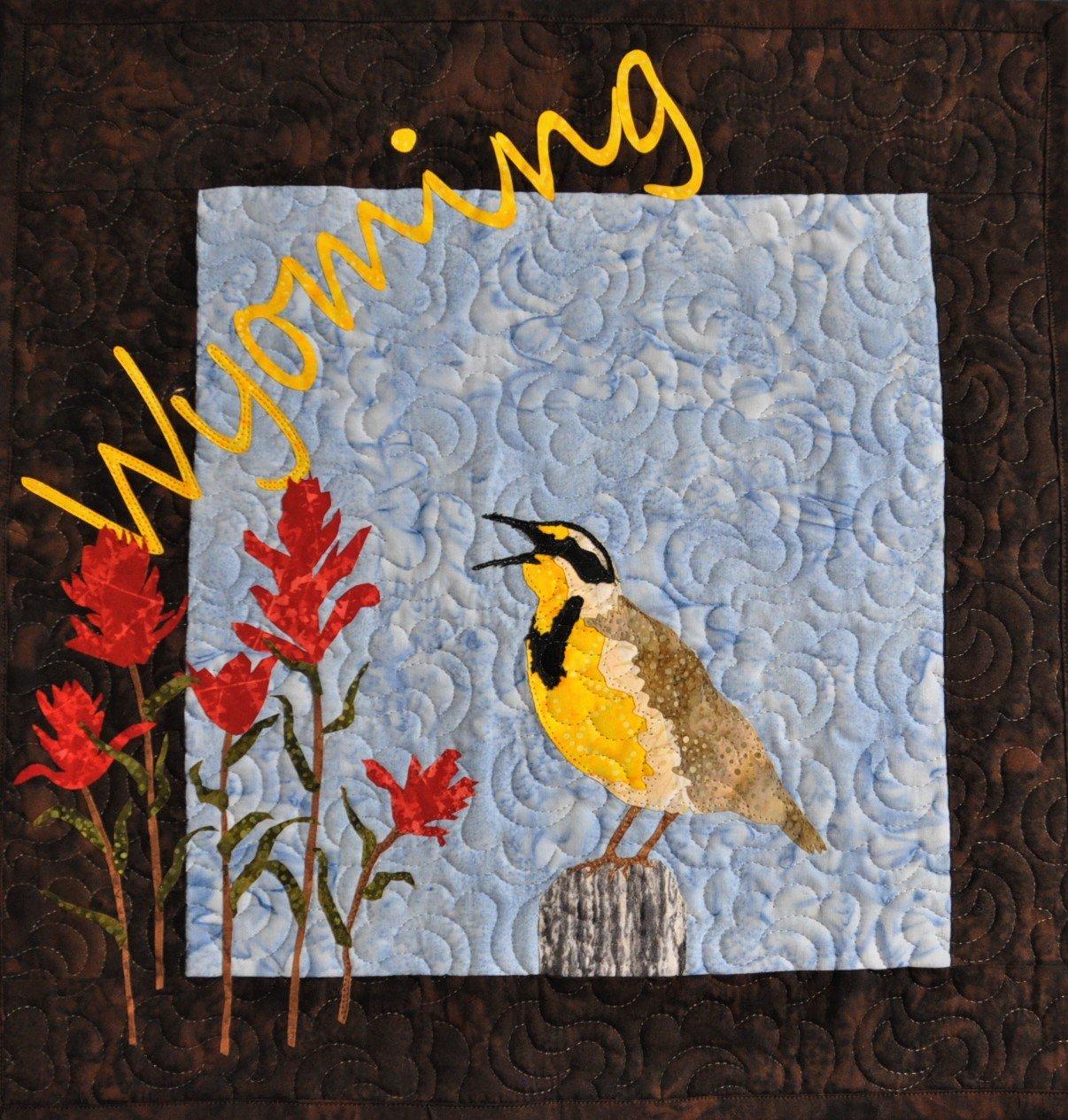 Wyoming Meadowlark Wallhanging Kit