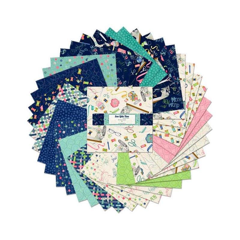 Sew Little Time 518-699-518 10 Karat Crystals 10 Squares