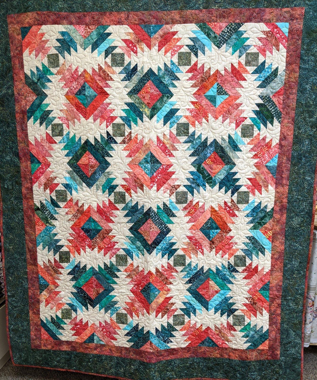 Pineapple Punch Quilt Kit 52 x 62