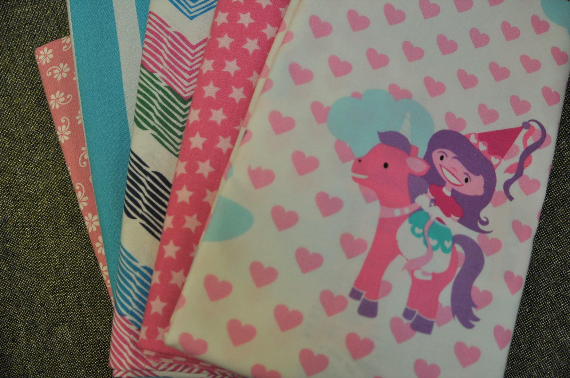 Pretty Princesses-QR 5-yd Bundle