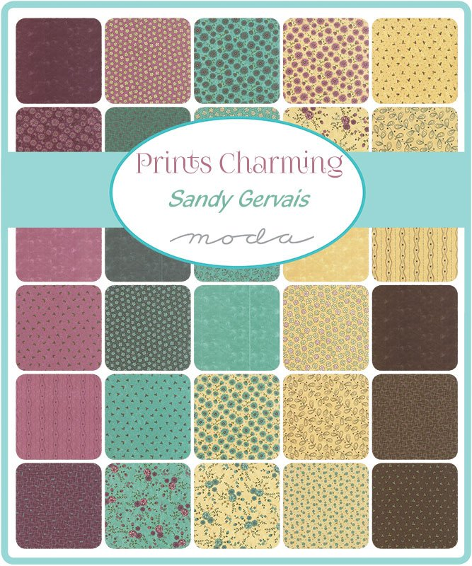 Prints Charming 2.5 square Candy Squares