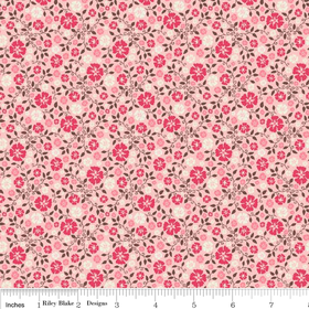Roundup Cowboy Floral C3743-Pink