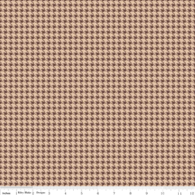 Roundup Cowboy Houndstooth C3744-Brown