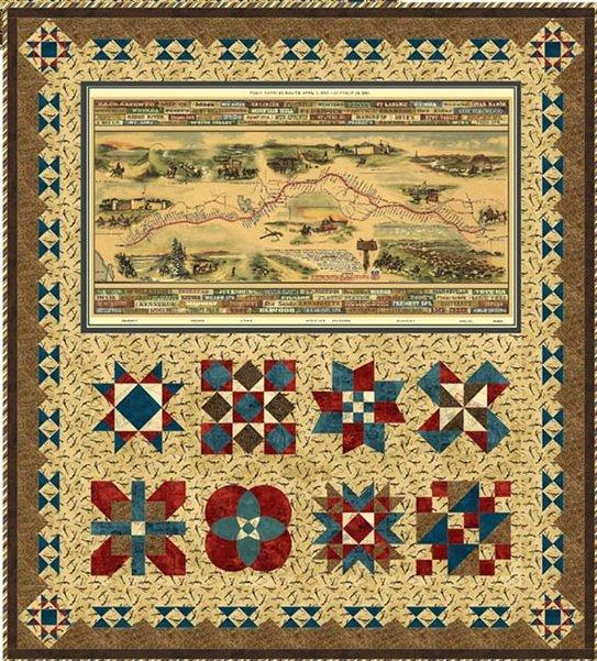 Western Journeys Quilt Kit 57 x 63