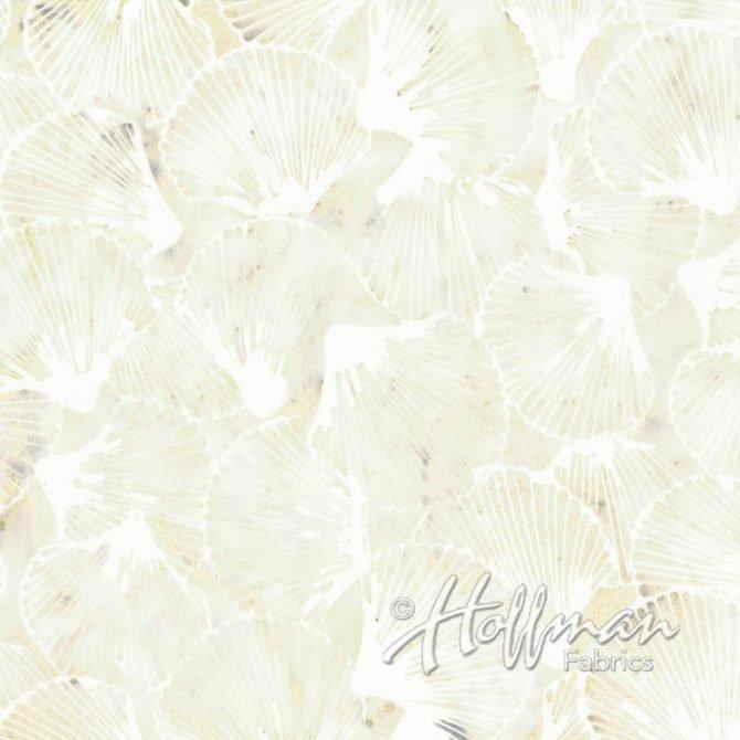 Bali Batik - Q2105-531 - Scallop Shells Papyrus