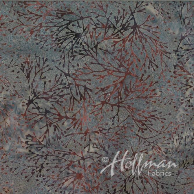 Bali Batik - Q2106-270 -  Branches Hippo