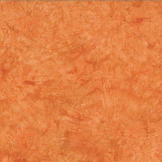 Bali Batiks - Q2130-13<br>Bark Texture Orange
