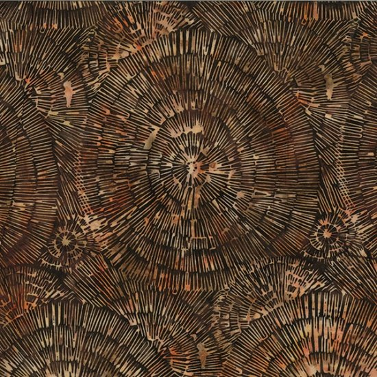 Bali Batiks - Q2130-253<br>Bark Texture Havana