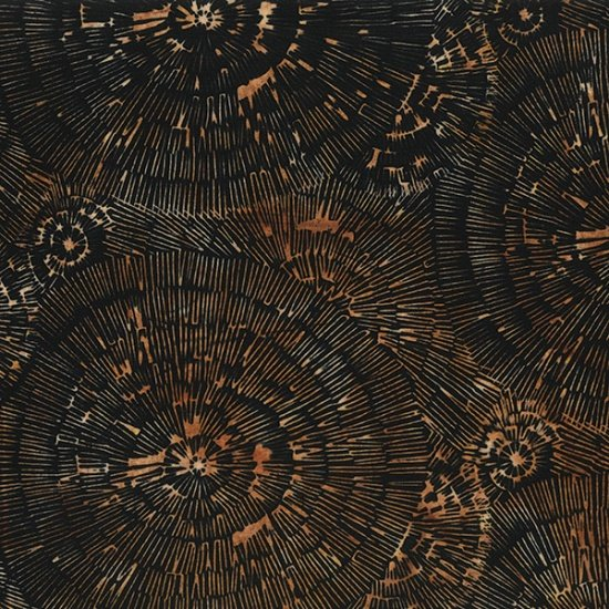 Bali Batiks - Q2130-A4<br>Bark Texture Antique Black
