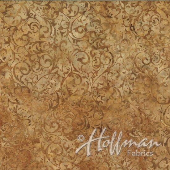 Bali Batiks - Q2134-566 - Scroll Cornbread