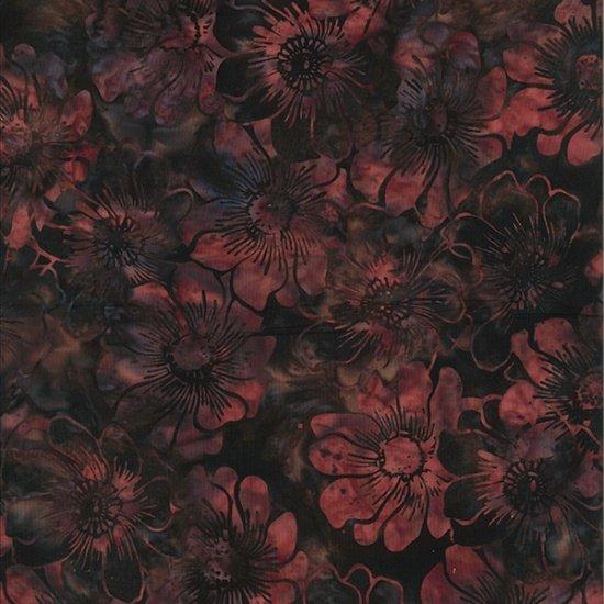 Bali Batiks - Q2136-256<br>Graphic Floral Copenhagen