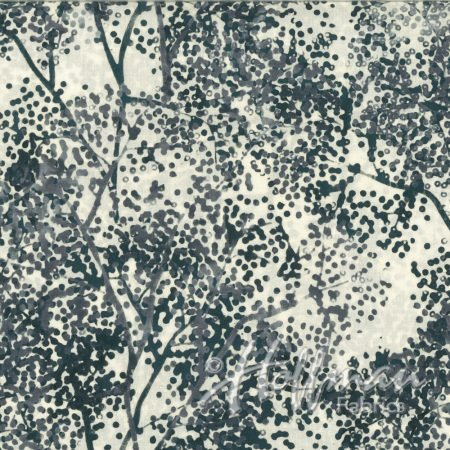 Bali Batik Dotty Branch Q2142-675 - Graphite