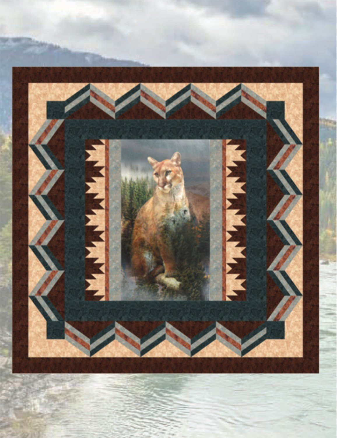 Silent Watcher Quilt Kit - 76 x 76