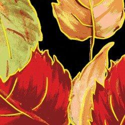 Bountiful Harvest Leaves 25177-Black