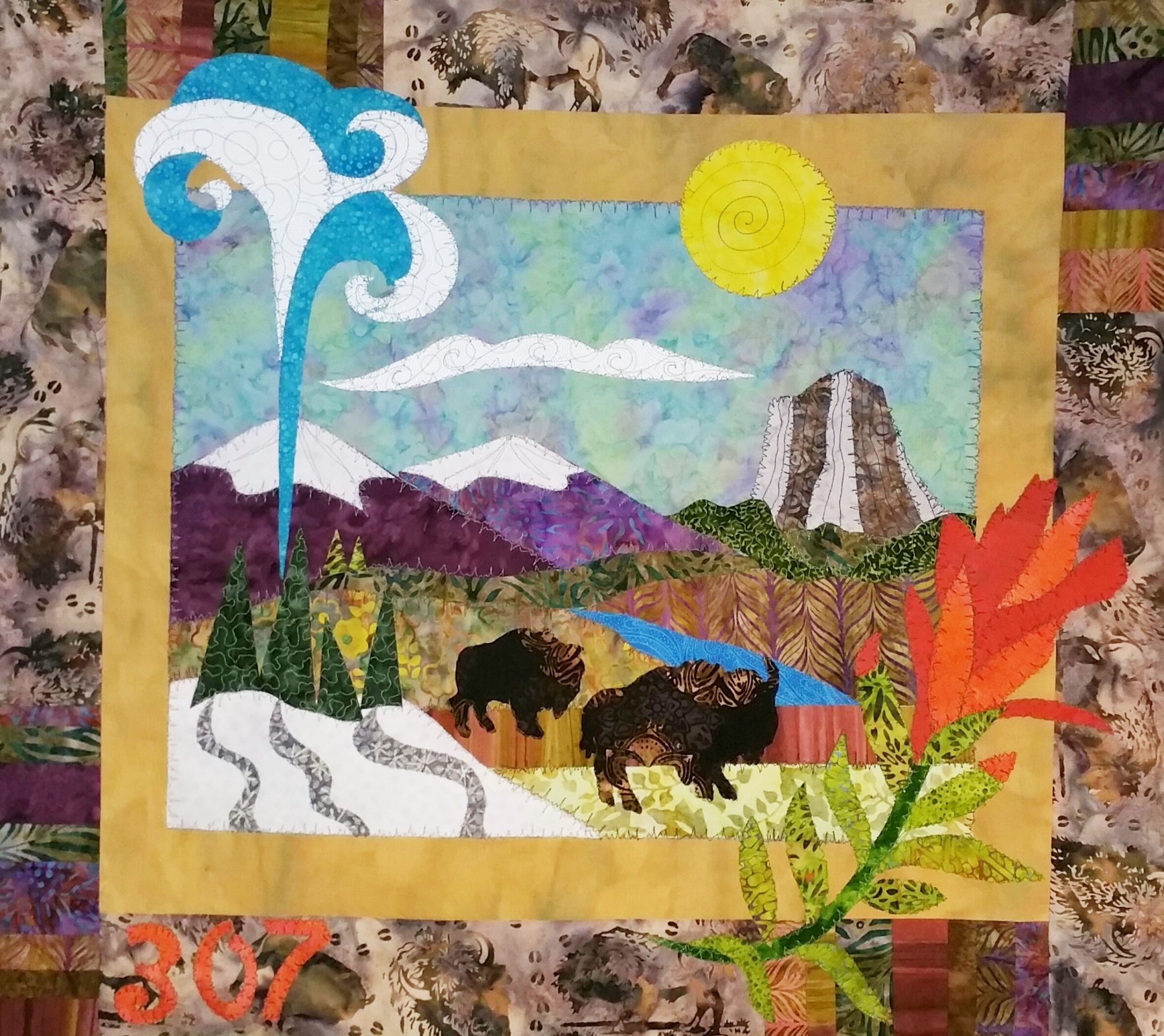 Roamin' Wyoming Quilt Pattern