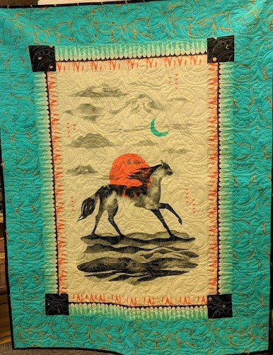 Moonrise Quilt Kit 44 x 56