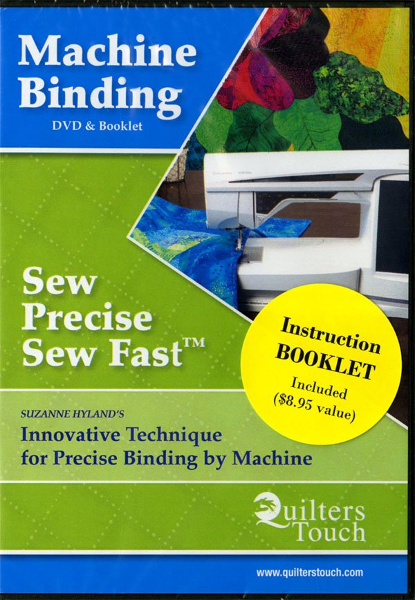 Sew Precise Sew Fast Machine Binding DVD& Booklet