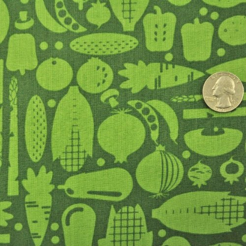 Silhouette Veggies Vegetables Green - C9581