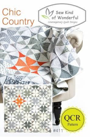 Chic Country Quilt Pattern #411