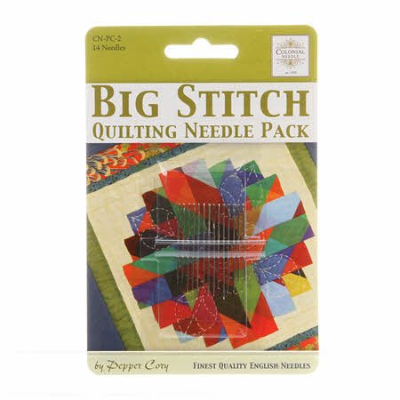 Big Stitch Quilting Needle Pack - Pepper Cory
