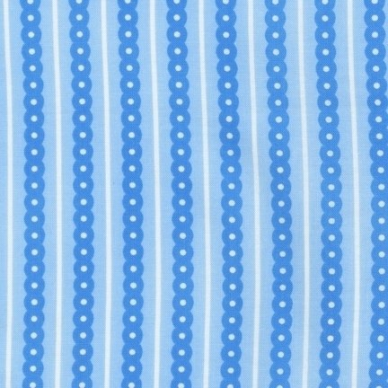 Sprout and Spell Stripe Blue - ARS-12474-4