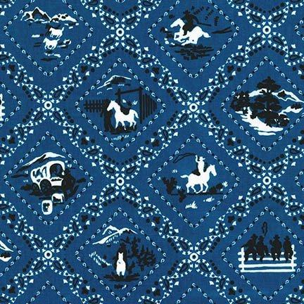 Ride'Em Cowboy 2 SRK-14225-4 Blue