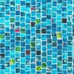 Mosaic  S4808-41 Aqua