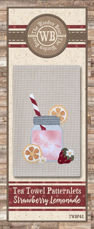 Strawberry Lemonade Patternlet
