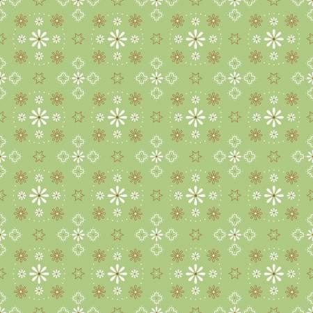 Bee Backings and Borders - Bandana Green - WB6420-GREEN