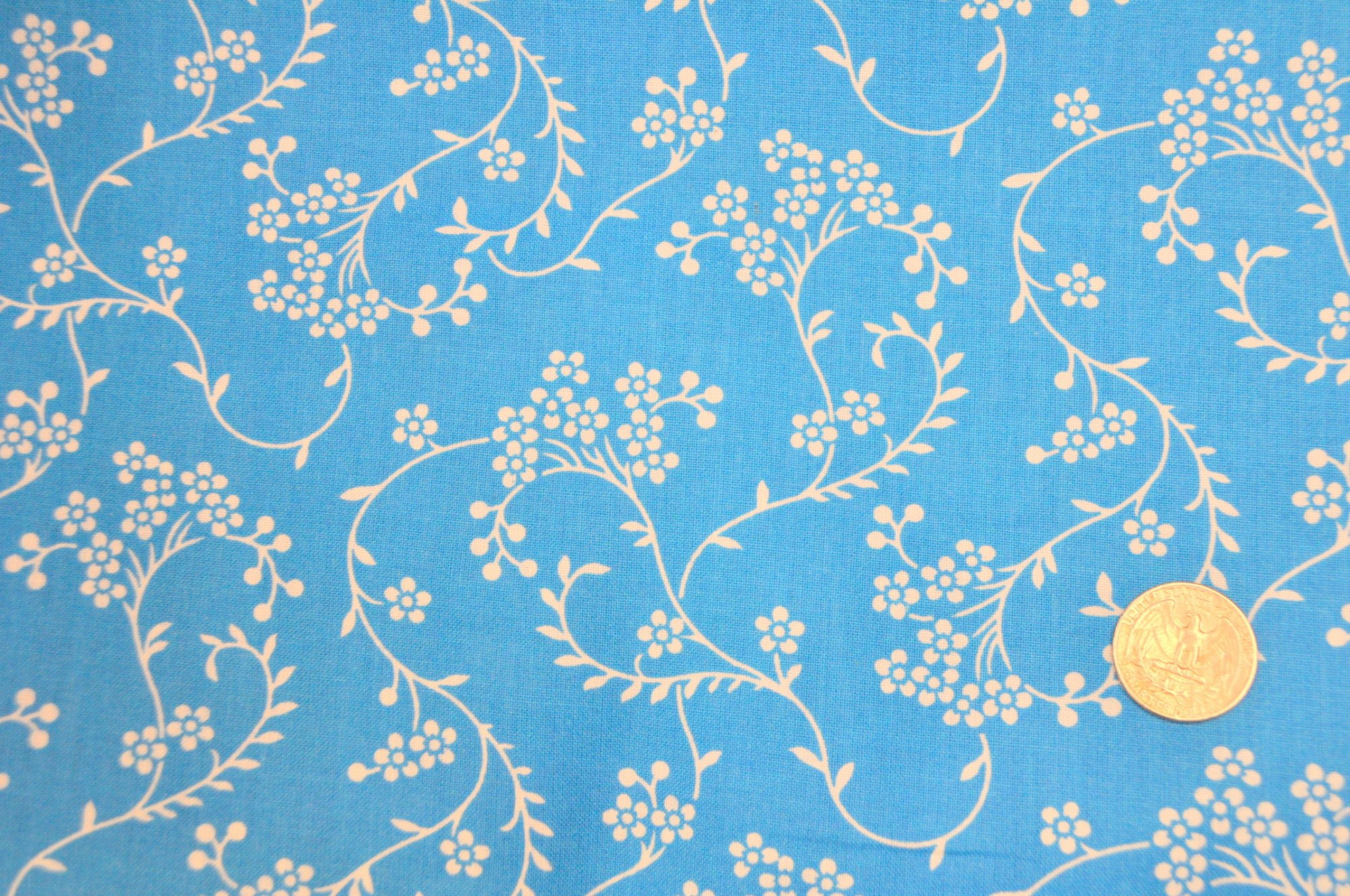 3-yd 108 Wide Backing Bundle Blue