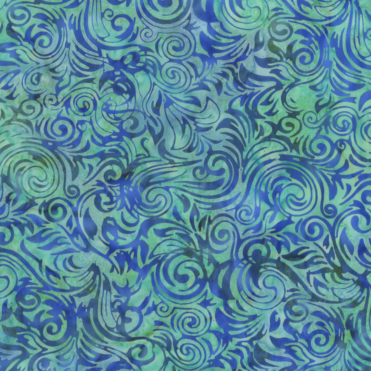 Pacific Blue Water Batik