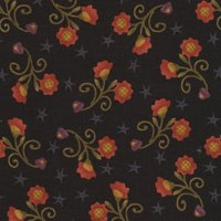 H.G. Autumn Song, Black Sunflower Print