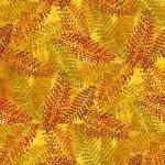 Gemstone Batiks, Fern-Yellow